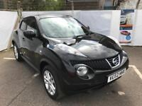 62 Plate Nissan Juke 1.5 Dci Tekna Leather* Sat Nav * Bluetooth * Cruise * Low Mileage, Warranty