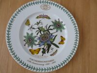 "Portmeirion Botanic Garden 35th anniversary 13"" plate 1960-1995 Collectors Club."