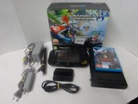 Wii U 32GB Boxed (No Mario Kart game) With Accessories And Devils Third Game