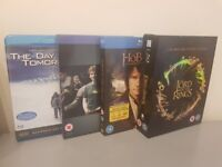 Blu-ray DVD including Lord of the Rings Trilogy