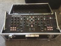 American Audio 19MXR mixer in Flight Case with x2 trantec Wireless microphones