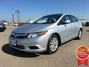 2012 Honda Civic Sdn EX-L *Heated Leather*