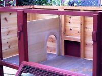 RABBIT HUTCH CONDITION AS NEW ONLY £70.00 ****OFFERS AROUND THIS FIGURE WILL BE CONSIDERED.****