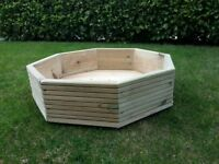 Octagonal Planter Quality Treated Timber BRAND NEW!