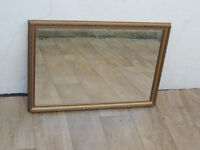 Golden stylish mirror (Delivery)
