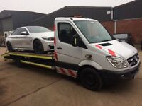 Car Breakdown Recovery Tow Service Auction Transport Scrap Cars Urgent Short Notice Nationwide