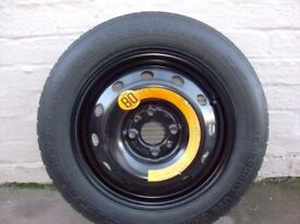Fiat panda spare wheel
