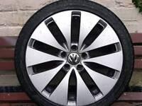 "VW GOLF GTD 18"" ALLOYS"