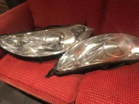Headlight assembly for Peugeot 407 SW