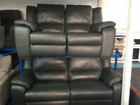 NEW / EX DISPLAY LAZYBOY LEATHER 3 + 2 SEATER ELECTRIC RECLINER SOFAS 70% Off RRP
