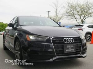 2015 Audi A3 Quattro 2.0T Technik - CLEAN CARPROOF+OWNER