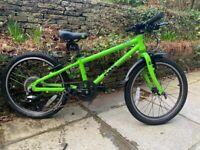 Bike Frog 52 20 inch Junior Bike - Green suit 5 - 7 year old.