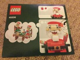 Lego Santa Claus Father Christmas set