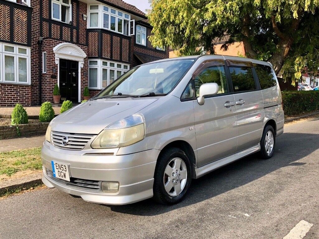 Nissan Serena 2004 8 Seats Automatic Low Miles Long Mot Lovely