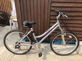 Raleigh tundra lady's bike