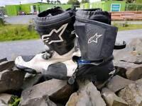 Motorbike boots size 10