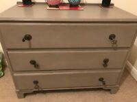 Annie Sloan French linen drawers
