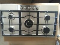 A Brand New Montpellier GH91X Gas Hob with 5 Rings