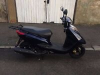 Yamaha motorbike in a perfect condition