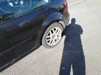 Vw golf GTI alloys *3 good tyres*needs one