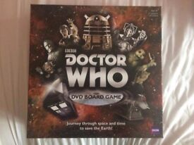 Doctor Who DVD board game (Good Condition)