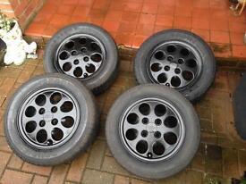 "Ford alloy wheels 14"""