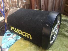 Fusion active subwoofer