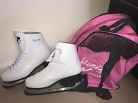 SIZE 6 NEW ICE-SKATES & BAG