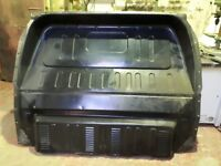 Factory fitted Ford Transit mk6/mk7 metal bulkhead with fixing bolts.