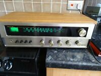 VINTAGE 1970'S ROTEL RX-150A STEREO RECIEVER / AMPLIFIER -FULLY WORKING + IPOD/MP3 PLAYER LEAD VGC