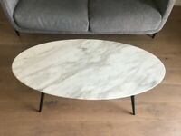 Designer marble coffee table