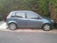 Ford Fiesta Finesse 2002 1300cc for breaking/repair