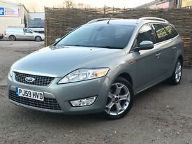 2009 Ford Mondeo 2.0 TDCI Titanium Automatic Estate. 1 Owner + Full Service History