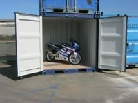 BRAND NEW 8ft Shipping Container's FOR SALE Only £1695+VAT GREAT SIZE steel shed portable cabin