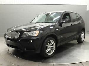 2013 BMW X3 XDRIVE 28I MAGS TOIT PANORAMIQUE CUIR