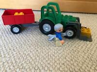 LEGO Ville 4687 VINTAGE Tractor Trailer Set