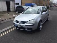 BRAND NEW MOT ZERO ADVISORIES VW GOLF 1.4S PETROL MANUAL 3DR HATCH 2005(05)