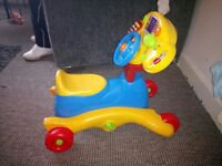 Vtech grow and glow ride on