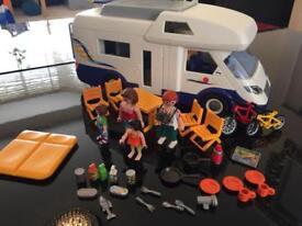Playmobil motorhome campervan