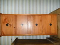 4 drawer pine unit