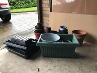 Loads of assorted plant pots - FREE