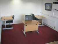 OFFICE SPACE TO RENT - FURNISHED. 270 SQ FT. (24.8 SQ. M). TOILET, KITCHEN, UTILITIES INCLUSIVE.