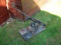 vintage eley clay pigeon trap