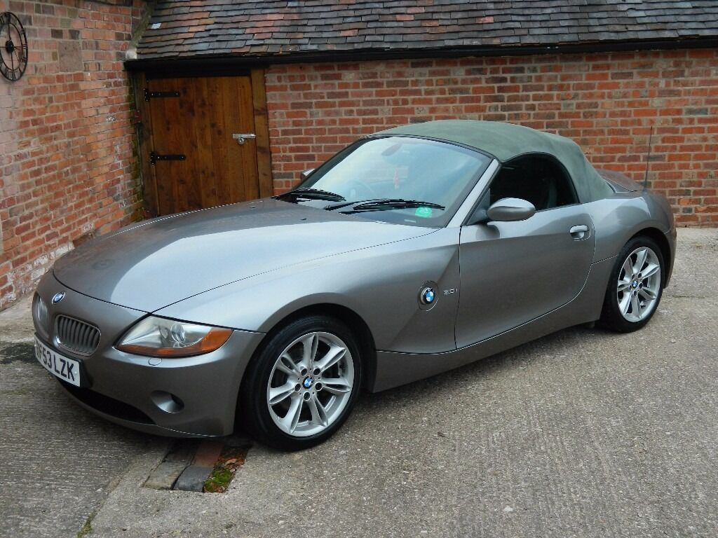 bmw z4 3 0 convertible soft top grey in market drayton. Black Bedroom Furniture Sets. Home Design Ideas