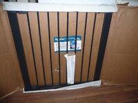 BabyDan PREMIER PRESSURE FIT METAL BABY STAIR, PET SAFETY GATE BOXED see details