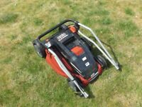 Ozito Lawnmower RRP £150 - Battery Missing (For Spares/ Parts)
