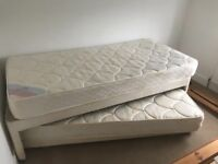 Free single bed with hidden guest bed