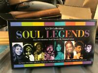 Soul legends 12 cd's brand new these are £50 on eBay