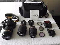 Nikon D5200 SLR Camera bundle