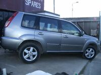 MERCEDES VITO SWAP FOR NISSAN X-TRAIL 4WD 2006